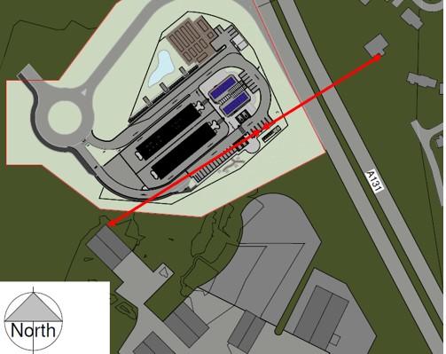 Braintree Site Layout location